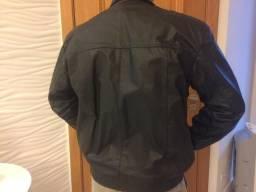 Jaqueta masculina em couro legitimo tamanho xxg d39643c79ca