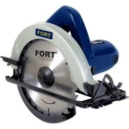 Serra Circular Para Madeira Elétrica 1050w 180mm 127v Fort