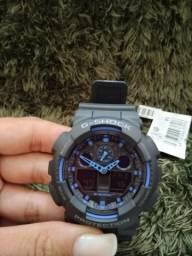 Relógio Casio G-Shock Modelo GA-100-1A2DR - 100% Original com Garantia Internacional Casio, usado comprar usado  Recife