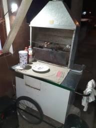Vendo churrasquerinha pra quem realmente precisa trabalhar fazer a grana.