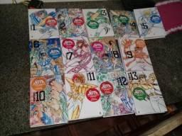 Vende-se Kanzenban Cavaleiros do zodíaco do 01 ao 13.