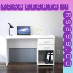 Mesa 2 Gavetas pequena Super PROMOÇÃO!!!