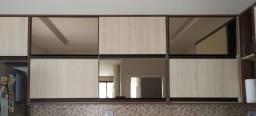 Porta de Armário de Cozinha Basculante com Espelho Bronze