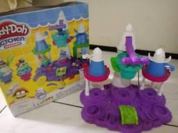Castelo de Sorvete da Play-Doh