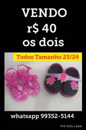 Papete e sandália 23
