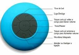Caixinha Bluetooth à prova d'água