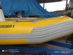 Vendo barco inflável sem motor
