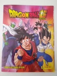 Álbum de figurinhas Dragon Ball