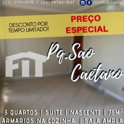 FIT- Apartamento- Pq São caetano - 3 quartos - suite