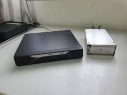 DVR 16 canais HDL + Hd externo de 1Tb + BRINDE 1 Câmera