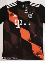 Camisa Bayern de Munique Third Kit Adidas 20/21 - Tamanhos: M, G