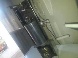 Máquina de churros e o kit salgado
