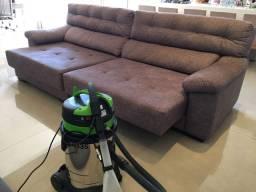 Máquina extratora de limpar sofá