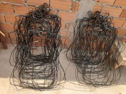 Cabides de corpo (de ferro encapado)