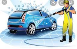 Lavador de carro com experiência!