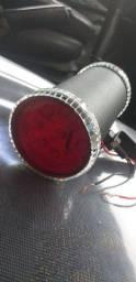 Lanterna de led vermelho corujinha cabine caminhão
