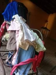 Mais de 50 peças lote de roupas