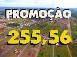 Terrenos a prestação em Caldas Novas. 255.56 por mês