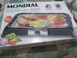 Churrasqueira elétrica Grand Steak e grill Mondial