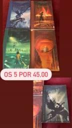 Livro - Coleção Percy Jackson
