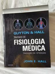 Livro Fsiologia médica Guyton & Hall semi novo