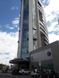 Alugo sala comercial no Vinícios de Morais com 50 m2, 02 ar condicionados novos