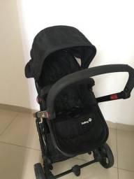 Carrinho Bebê Safety 1St 6 meses uso com bebê conforto incluso e base veicular