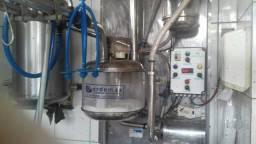 Ordenhadeira e Tanque de leite