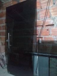 Porta e janela de vidro