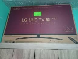 Vendo TV Smart LG 55 4 k inteligência artificial