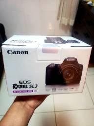 Camera Canon SL3 - Nova, Lacrada, NFe.