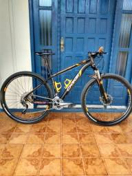 Bicicleta Oggi 7.2 kit Shimano alívio 27v bem conservada