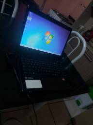 Notebook Itautec Tela 14 AMD 4 gigas ddr3 windows 7