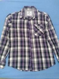Camisas Xadrez Bluesteel - P