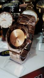 Belos e elegantes relógios feminino à prova d'água!