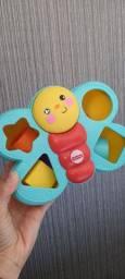 Brinquedo Encaixa Borboleta Fisher Price