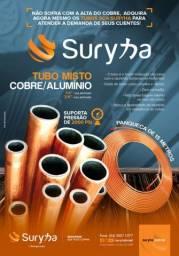 Tubo de Cobre x alumínio instalação split