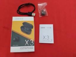 Fone Bluetooth TWS Edifier X3 preto