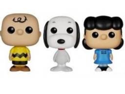 Funko Mini Peanuts Set - Charlie Brown, Snoopy, Lucy Van Pelt Target Exclusive LOOSE