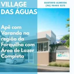 [67]-More em Condomínio Fechado na Forquilha/ Apto com Varanda!