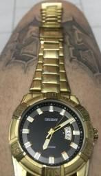 Relógio Orient Banhado a Ouro 18K!! Estudo Proposta