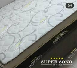 Conj Box Sleep Pocket Ortosleep Casal 138x188 Mola Ensacada A Pronta Entrega