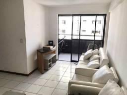 Apartamento no Tirol - 58m² 2Qts 1Suite - semi Mobiliado