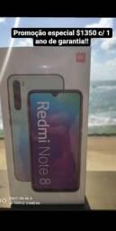 Note 8 4 ram 64gb novos lacrados globais originais com garantia de 1 ano