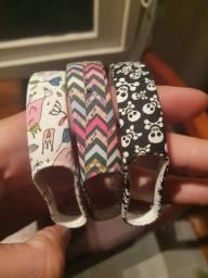 Lindas pulseiras mi band 5