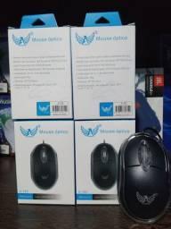Mouse COM Fio USB 2.0