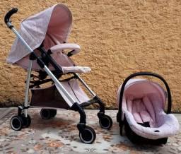 """Carrinho+bebê conforto """"compasso ibiza"""""""