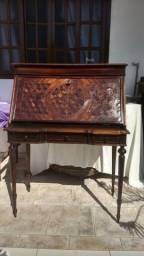 Escrivaninha antiga império de jacarandá