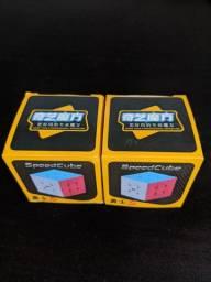 R$ 30 Cubo mágico 3x3 qiyi Warrior W - profissional