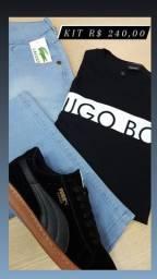 Camisa Hugo Boss premium
